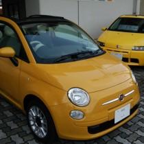 FIAT500C GIALLA