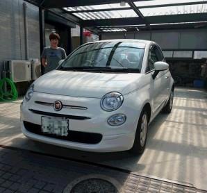 FIAT500TwinAir POP お買上ありがとうございます